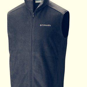 Navy Columbia Fleece Vest